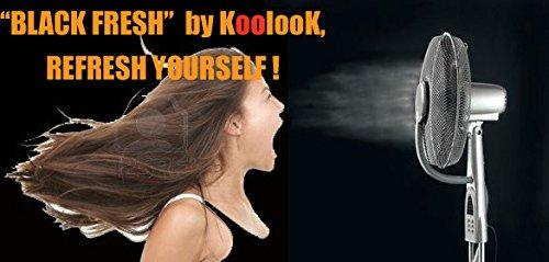 Zoom IMG-2 ventilatore nebulizzatore black pro koolook