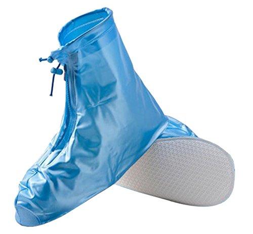 Black Temptation Wandern/Bergsteigen / Camping/Ski-Schuhe Gaiter Regen Überschuhe- XL Blau