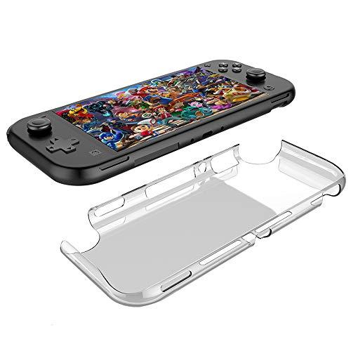 Voviqi Hülle kompatibel mit Nintendo Switch Lite, Hülle Handyhülle für Nintendo Switch Lite- Crystal Clear Ultra Dünn Durchsichtige Silikon Schutzhülle TPU Case für Nintendo Switch Lite, Transparent Da-lite-switch