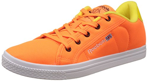 Reebok Classics Women's Court Light Pink, Yellow and White Sneakers – 5 UK 41RBEY5P9NL