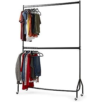 Kleiderstange Etagen Kleiderständer 140 bis 225 cm Breit