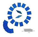 Kunststoffkeile 5-7x4-5cm- 20 Stück zum Verlegen von Parkett Laminatverlegung Verlegewerkzeug Verlegehilfe