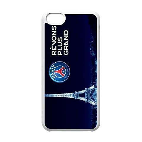 Personalised iPhone 6 & iPhone 6s 4.7 Inch Full Wrap Printed Plastic Phone Case Paris st germain