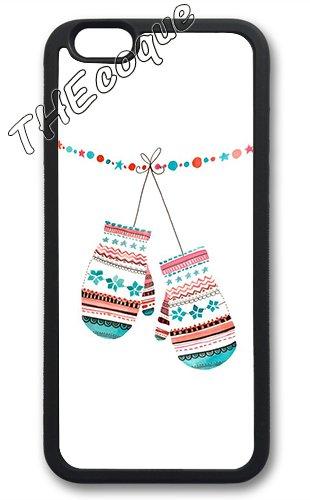 Coque silicone BUMPER souple IPHONE 5c - Joyeux noel pere noel merry Christmas motif 6 DESIGN case+ Film de protection OFFERT 4