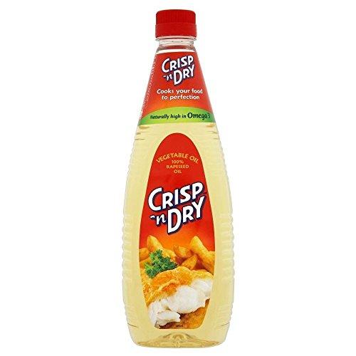 Crisp 'huile végétale n Dry (1L) - Paquet de 2