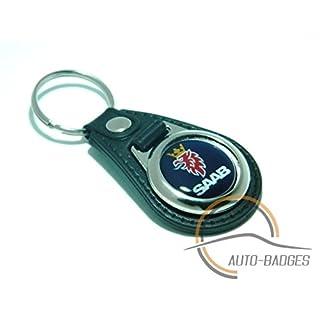 auto-badges Saab keyring saab aero 900 saab key ring