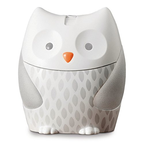 Skip Hop 186000-USB Moonlight & Melodies Owl Nightlight Projector, grau