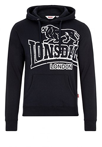 Lonsdale London Herren Oberteile / Hoody Tadley blk/ecru