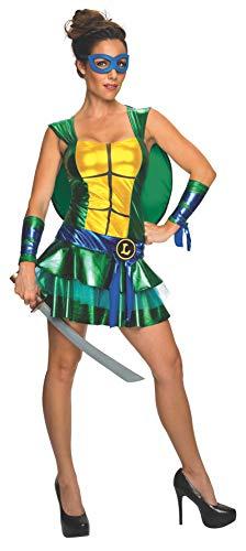 Kostüm Leonardo Ninja Turtles sexy Frauen (Turtle Kostüm Frauen, Ninja)