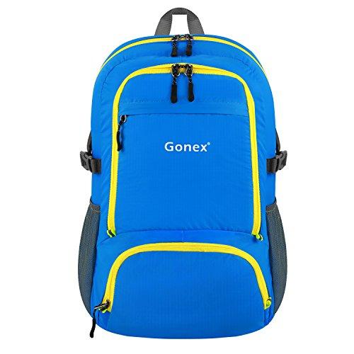 Gonex® Sac à dos de sport Ultra-Léger/Sac imperméable/Sac pliable - Pour camping, randonnée,voyage,fitness Sac étanche 30L