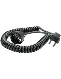 Bachmann 672.180 Rallonge Schuko câble spirale Noir  500/2000mm