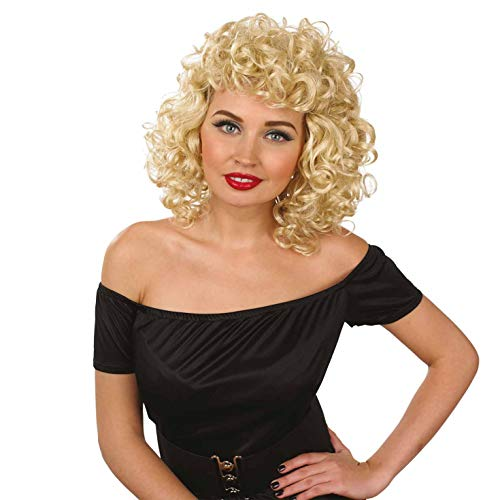 Fun Shack Damen Costume Kostüm, High School Sweetheart Wig, - Hair Musical Kostüm