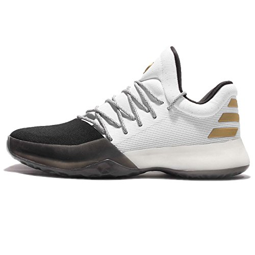 Chaussures adidas Harden Vol. 1 blanc/noir/or métalisé