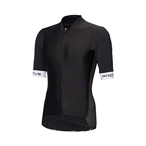 Protective Hombre P DE 43 A econyl – Camiseta de Ciclismo, PrimaveraVerano, Hombre, Color Negro, tamaño Small