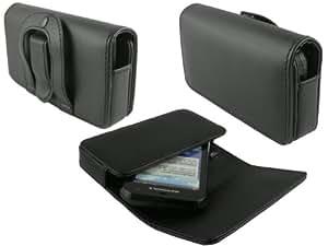 mobilitii Elegante Leder Quer Tasche Hülle für LG Google Nexus 5