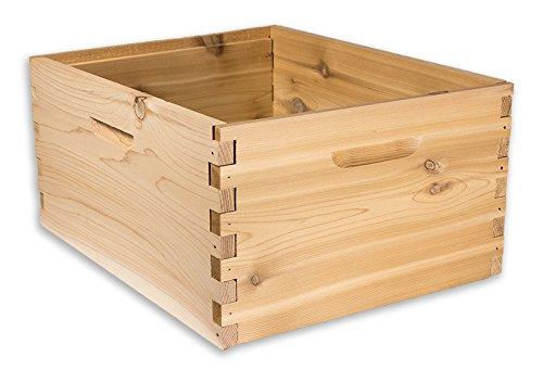 Tief Bedingungen (Arboria 10Rahmen Tief Hive Box Zedernholz für Langstroth Bienenzucht Made in USA, 40,6x 48,3x 22,9cm Premium Cedar)