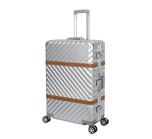TRAVELHOUSE Paris Großer Reisekoffer Koffer Trolley Reisegepäck ✔ Größe: XL ✔ 2 integrierte TSA Schlösser ✔360° Doppelzwillings...