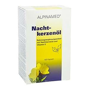 Alpinamed, Huile d'onagre avec de la vitamine E, gélules, 100 Unités
