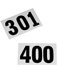 Números de salida del 301 - 400.
