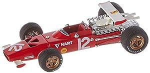 Brum R256B - Coche en Miniatura de colección, Color Rojo y Blanco