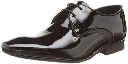 Hudson Dawlish, Derby à lacets homme Noir - Noir
