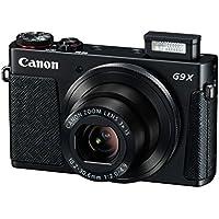 Canon PowerShot G9 X Kompaktkamera (20,2 Megapixel, 7,5 cm (3 Zoll) Display, WLAN, NFC, Image Sync, 1080p, Full HD) schwarz