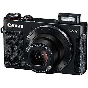 Canon PowerShot G9 X Fotocamera Compatta, 20.2 Megapixel, Nero