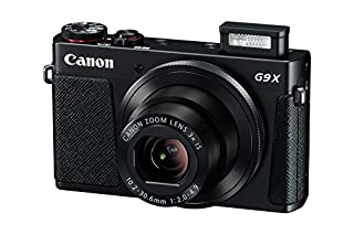 "Canon PowerShot G9 X - Cámara de Bolsillo de 20.2 MP (Pantalla de 3"", Zoom óptico 3X, estabilizador Digital, vídeo Full HD), Color Negro (B016MN3JTC) 