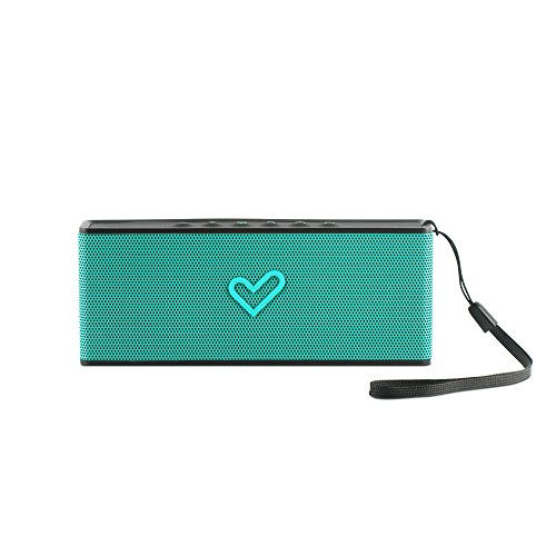 Energy Sistem Music Box B2 Bluetooth - Altavoz portátil inalámbrico (Bluetooth, entrada de audio, manos libres, batería), verde mint