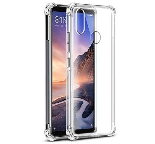 Tumundosmartphone Funda Gel TPU Anti-Shock Transparente para XIAOMI REDMI Note 6 Pro