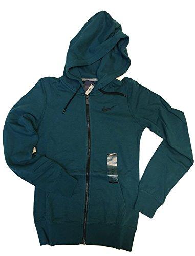 Nike Club Swoosh Womens Full-Zip Hoodie #611719-307 (XS) Nike Lady-clubs