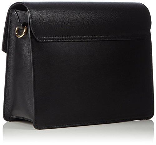 HUGO Bea 10180960 01, Sacs portés épaule Noir - Noir