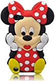 Angelina(TM) Branded 3D Cute Cartoon Minnie Mickey Mouse Soft Silicone Case Cover for Ipod Touch 5 5G 5th Red Color