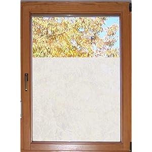 610 / 65cm hoch Sichtschutzfolie Fensterfolie Glasdekor Badezimmer Fenster Folie