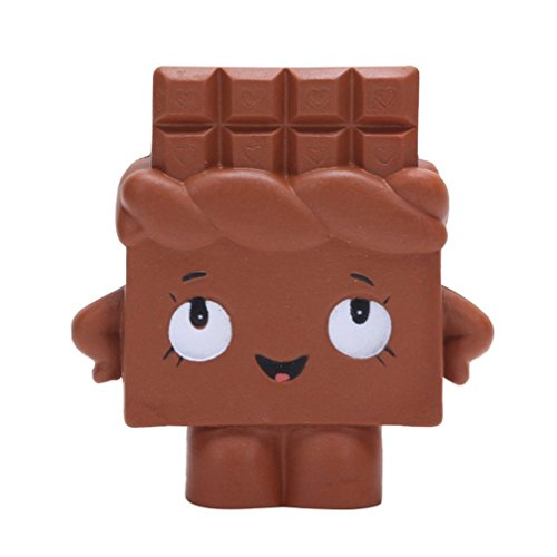 Nroom Simulado Rebote Lento Chocolate Blando Pan Comida...