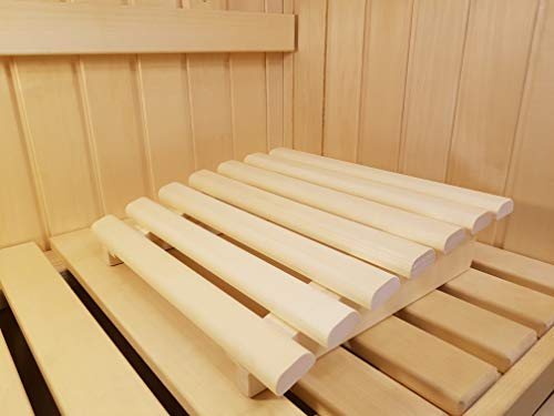 AGANDE Sauna Kopfstütze J-008 Saunakopfstütze Nackenstütze Beinauflage Rückenlehne...