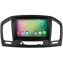 8pulgadas Octa Core 1024* 600Android 6.0coche reproductor de DVD GPS navegación Multimedia estéreo de coche para Opel Vauxhall Insignia 200820092010201120122013Radio Control de volante con 3G WIFI Bluetooth libre 8G tarjeta SD Mapa