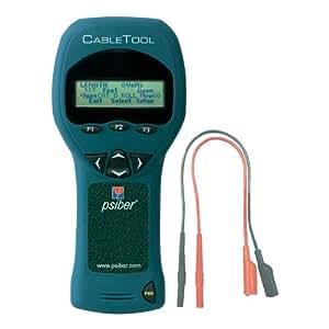 """Le """" CableTool """", Testeur de câble multifonction avec mesure de la longueur TDR Psiber Data CTK5015"""