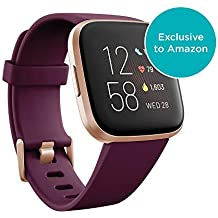 Fitbit Versa 2, Health & Fitness Smartwatch with Voice Control, Sleep Score & Music