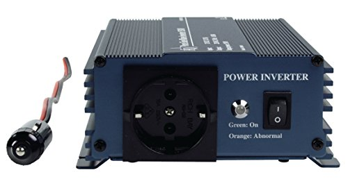 Eurosell - Profi Sinus Wechselrichter 12V - 230V - 150W Spannungswandler Zigarettenanzünder KFZ auf Steckdose Strom Adapter