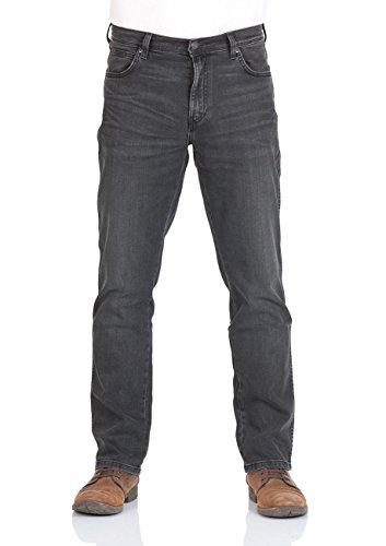 Wrangler - Jeans - Jambe droite - Homme Bleu Bleu Schwarz (Smouky 71J)