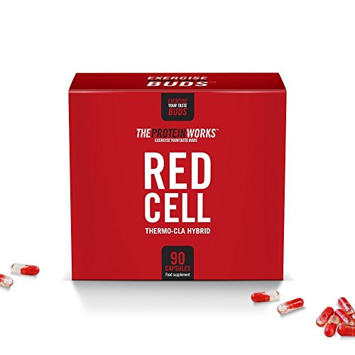 THE PROTEIN WORKS Red-Cell Dual Release Pre-Workout Capsule – 90 Capsules