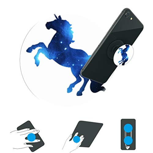 Careful 360 Degree Unicorn Rainbow Horse Finger Ring Smartphone Stand Holder Mobile Phone Holder 2019 Mobile Phone Holders & Stands