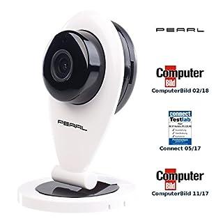 PEARL IP Camera: HD-IP-Kamera mit Bewegungserkennung, IR-Nachtsicht & microSD-Aufnahme (Funkkamera ohne WLAN)