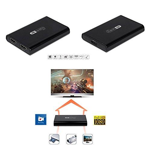 MyGica U800 Scheda USB 3 0 Grabber HDMI 1080p 60fps per Acquisizione Video  e Live Streaming, Compatibile Windows Mac Linux Free Driver Video Game