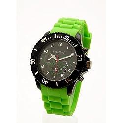 Uhr Chrono look Armbanduhr