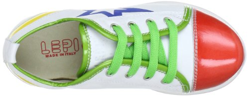 Lepi 2169Lec, Chaussures basses fille - Multicolore (Art.2169 Multicolore (Art.2169 C.03 Bianco/Rosso/Verde)