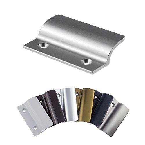 Preisvergleich Produktbild Balkongriff FH-Flach stabiler Ziehgriff aus Aluminium - F1 eloxiert - Balkontürgriff