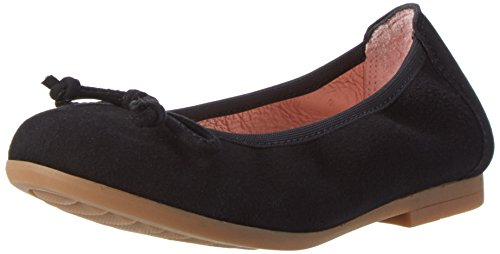 Unisa Girls' Casia_17_ks Ballet Flats, Black, 13.5 UK