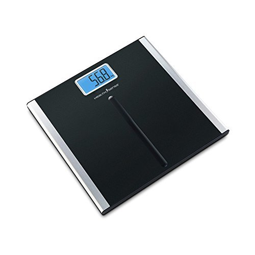 Health Sense Soft-Grip Personal Scale PS 135, Black/Blue